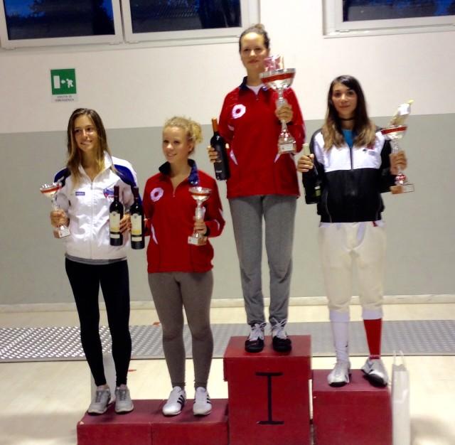 Eleonora Trevisan: ottima la prima