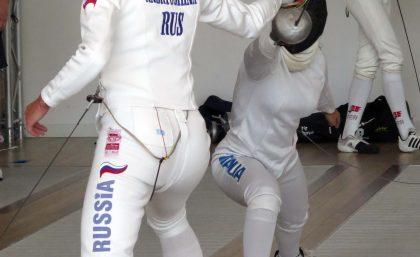 I Cadetti della SGS allo stage della Nazionale Olimpica Russa